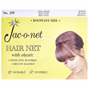 Jac-O-Net Nylon Bouffant Net White