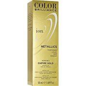 Ion Colour Brilliance Metallics Temporary Liquid Hair Makeup Empire Gold DUO SET!