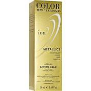 Ion Colour Brilliance Metallics Temporary Liquid Hair Makeup Empire Gold DUO SET!