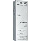Ion Colour Brilliance Metallics Temporary Liquid Hair Makeup Silver Streak Duo Set!