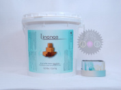 Linange Shea Butter Cream Texturizer 8 lbs. (3.6 Kg.) + FREE CANDLE