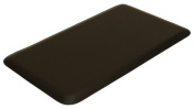 IC Urethane 0.5m X 0.8m Salon Spa Barber Anti-fatigue Extra Soft Shampoo Front Desk Mat 1.6cm In (Black) +FREE YS Park Clips ($15 value).