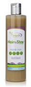Hair to Stay,stop hair Loss Shampoo with Black Mud Biotin Avocado & Coconut Extract for men and women 400ml