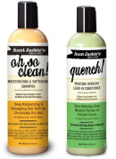 Aunt Jackie's Oh so Clean! Shampoo & Quench Leave-in Conditioner 350ml Each