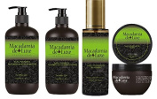 Macadamia Deluxe Hair Pack Containing 4 Items