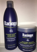 Rr Line Racioppi Set for Damage Dehydrated Hair and Cary Bag