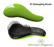 Ultimate Detangling Hair Brush/glide the Detangler through Tangled hair - Best Brush / Comb for Women, Girls, Men & Boys - Use in Wet and Dry Hair No More Tangle - Reduce Hair Loss and Breakage