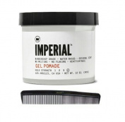 Imperial Barber Products Gel Pomade 350ml with BraidZ Comb