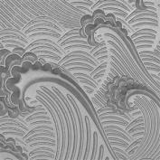 Cool Tools - Flexible Texture Tile - Waves - 10cm X 5.1cm