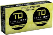 TOWELDRY Firm Hold Pomade Twin Pack Stocking Stuffer