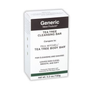 Generic Value Products Tea Tree Cleansing Body Bar. Paul Mitchell Tea Tree Body Bar DUO SET - 160ml with a FREE Mini Net Bath Sponge