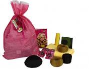 Vinnet BeautyTM Hair Tools Gift Set for Christmas - Hair Bun, Hair Clip, Hair Pin, Hair Roller with Hooks, Microfiber Hair Towel, Hair Pad, Folding Bag, Eco Bag, Scented Sachet.