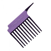 Pro Pic Detangling And Treatment Comb Purple