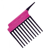 Pro Pic Detangling And Treatment Comb Pink