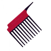 Pro Pic Detangling And Treatment Comb Red