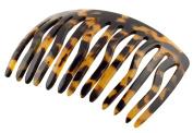 French Amie Handmade Medium Tokyo Celluloid 13 Teeth Side Hair Comb