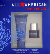 All American Stetson Gift Set - After Shave Lotion 2.5 - Cologne Spray .5