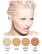Art of Air 4pc FAIR Complexion Professional Airbrush Cosmetic Makeup Set 30ml bottles