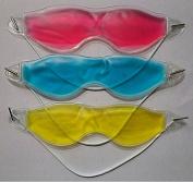 3 PCS Gel Cool Soft Comfortable Eye Mask Sleeping Eye Blindfold Eyeshade Gel Eye Mask for Tired Eyes Relaxing Sleeping Cool