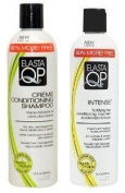 Elasta QP Double Set (Creme Conditioning Shampoo, Intense Conditioning Treatment) by N/A