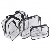 Transparent Toiletry Bag 3 Bags Sets