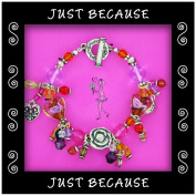 Just Because Charm Bracelets and Assorted Charms - Create a Charm Bracelet!