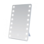 Miss Sweet LED Lighted Makeup Mirror,Soft Touch,10X