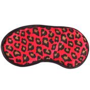 Coromose Sexy Leopard Sleeping Eye Mask Blindfold Shade Sleep Aid Satin