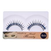So Beauty Nilin'a 10 Pairs Glitter Natural & Long False Eyelashes Eye Lashes A-40