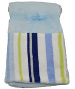 Little Beginnings Soft Fleece Baby Blanket Blue