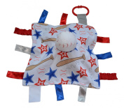 Baseball Blanket / Lovey, For Entertainment, Comfort and Sensory Play