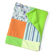 Patchwork Plush Blanket