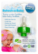 Refresh-a-Baby Water Bottle Adapter, Green