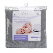 Baby's Journey Icomfort Premium Change Pad Cover, Grey