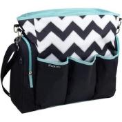 Unisex iPack Nappy Bag, Black