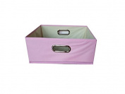 Princess Pink 6x11x11 Folding Storage Bin by Alexi Ricci Storage with Style Collection