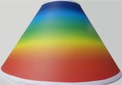 Rainbow Lamp Shade / Rainbow Nursery Room Decor