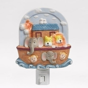Roman Inc. 14cm h Noah's ARK Wall Night Light