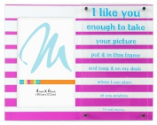 """Malden International Designs Sentiments Bright Phrases """"I Like You"""" Picture Frame, 10cm by 15cm by Malden International Designs"""