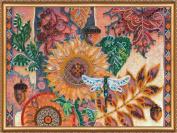 "DIY Beaded Embroidery Kit ""Leaf fall'"