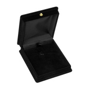 Beautiful Bead Necklace Chain Jewellery Display Storage Box Gift Case Holder Organiser-Black