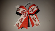 Baltimore Baseball Hair Bow