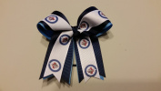 Winnipeg Hockey Hair Bow