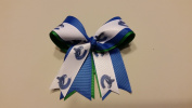 Vancouver Hockey Hair Bow