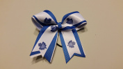 Toronto Hockey Hair Bow