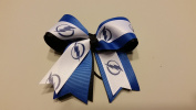 Tampa Bay Hockey Hair Bow