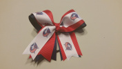Columbus Hockey Hair Bow