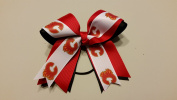 Calgary Hockey Hair Bow