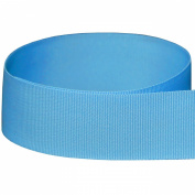 1cm Baby Blue / Light Blue Solid Grosgrain Ribbon - 100 Yards - USA Made -