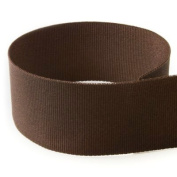 1cm Brown Solid Grosgrain Ribbon - 100 Yards - USA Made -